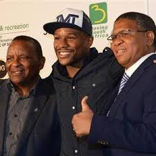 SASCOC welcomes renowned boxing champion, Mayweather to SA