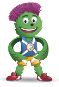 Commonwealth mascot Clyde unveiled
