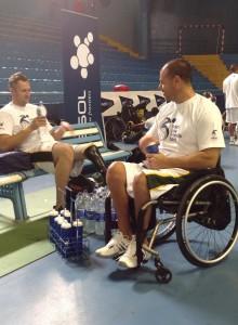 SA wheelchair basketballers into quarters in Morocco