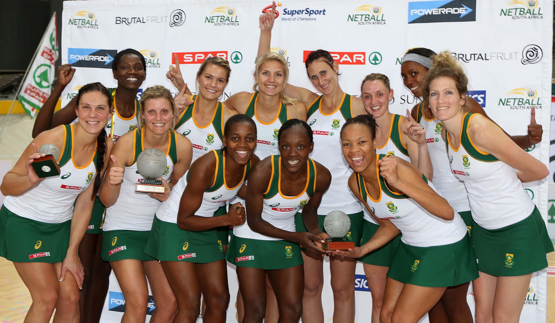 Spar Challenge netball test series: South Africa v Scotland, 3rd test