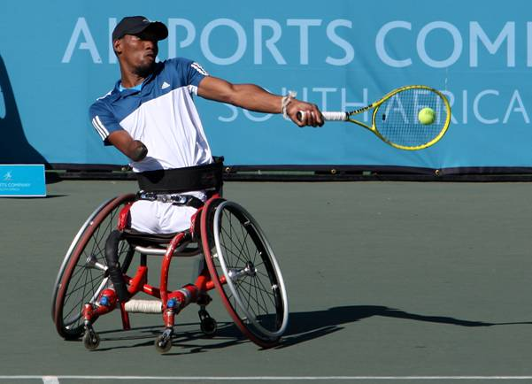 Paralympian ace Sithole ousted at Open de France