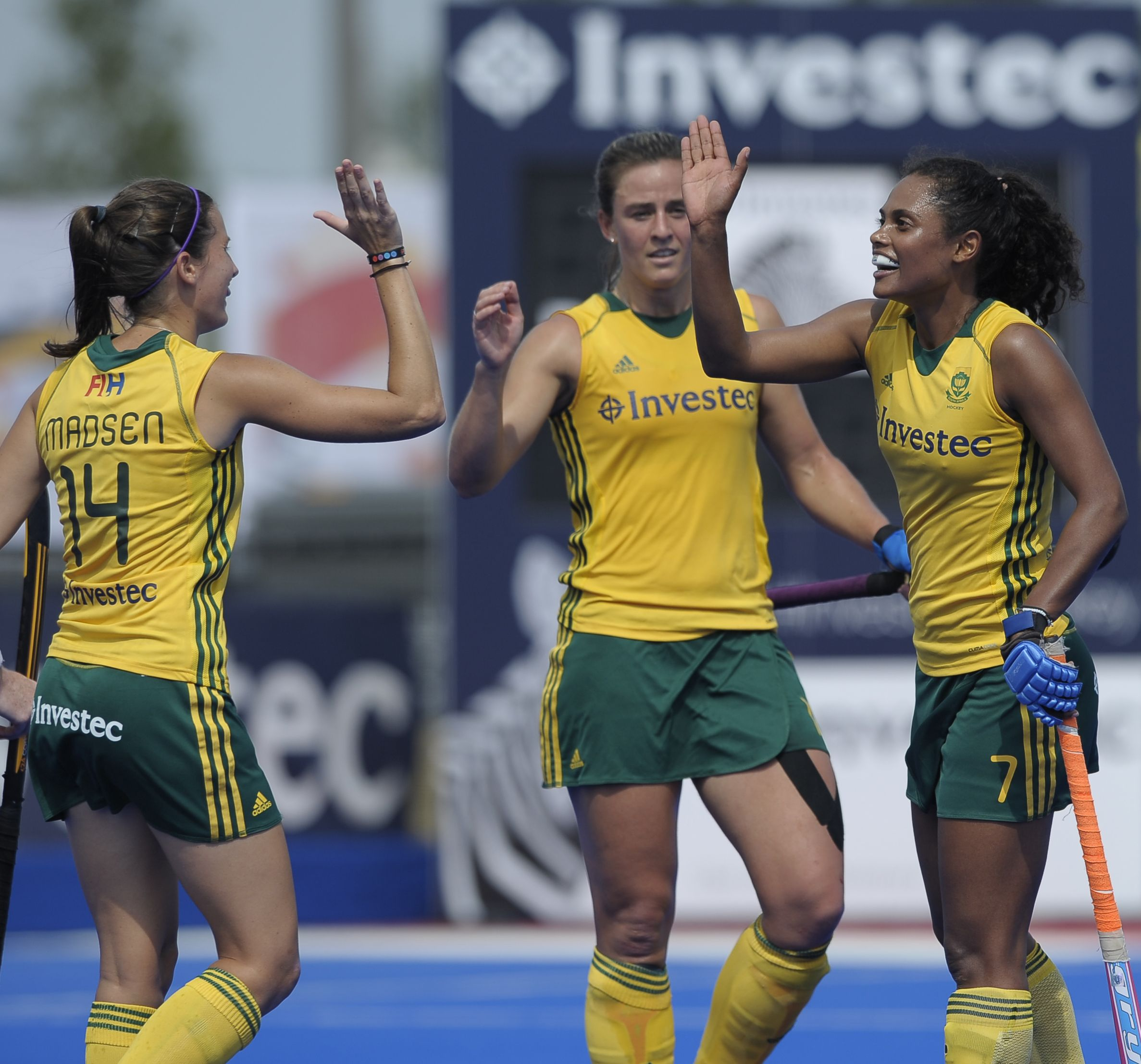 Eight is enough for SA women