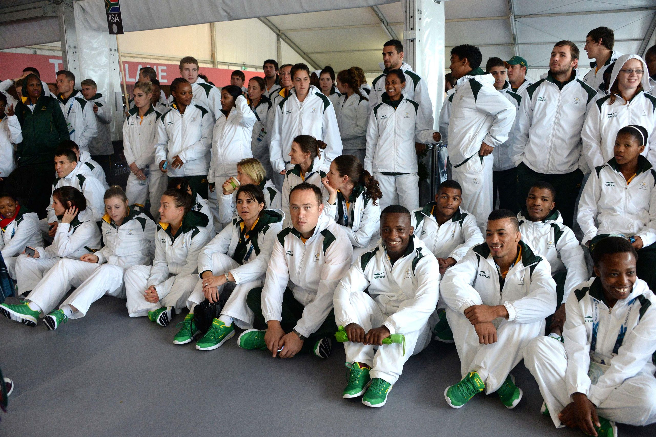 Team SA welcomed at Games flag-raising ceremony