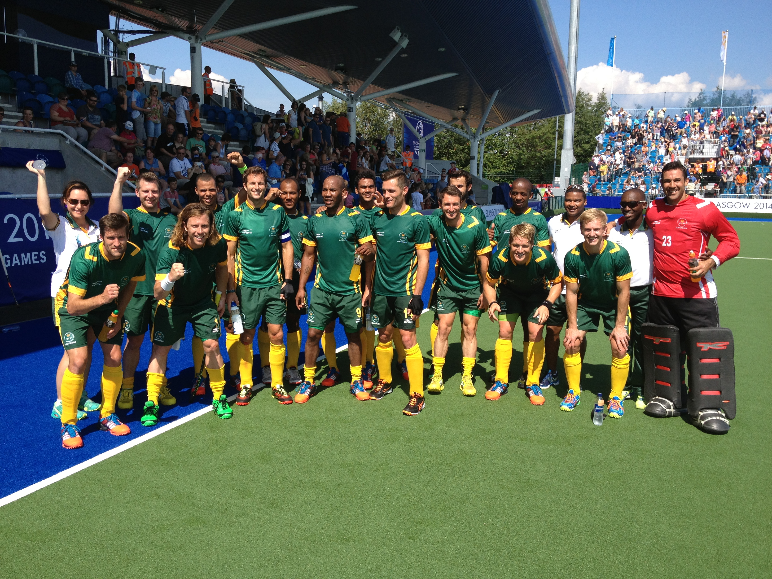 Cronje and Malgraff see Team SA pick up the points