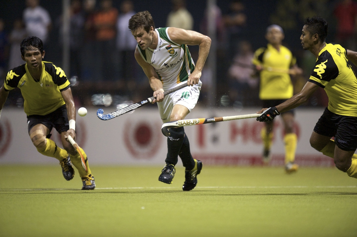 Men's hockey side draw Games warm-up match