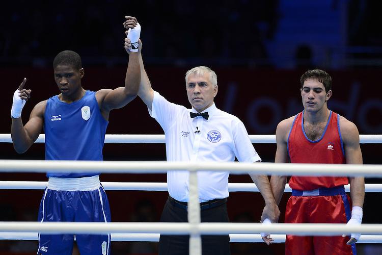 2012 London Olympics: Mens boxing