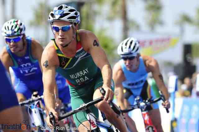 Bunch of five triathletes hoping to be a hit