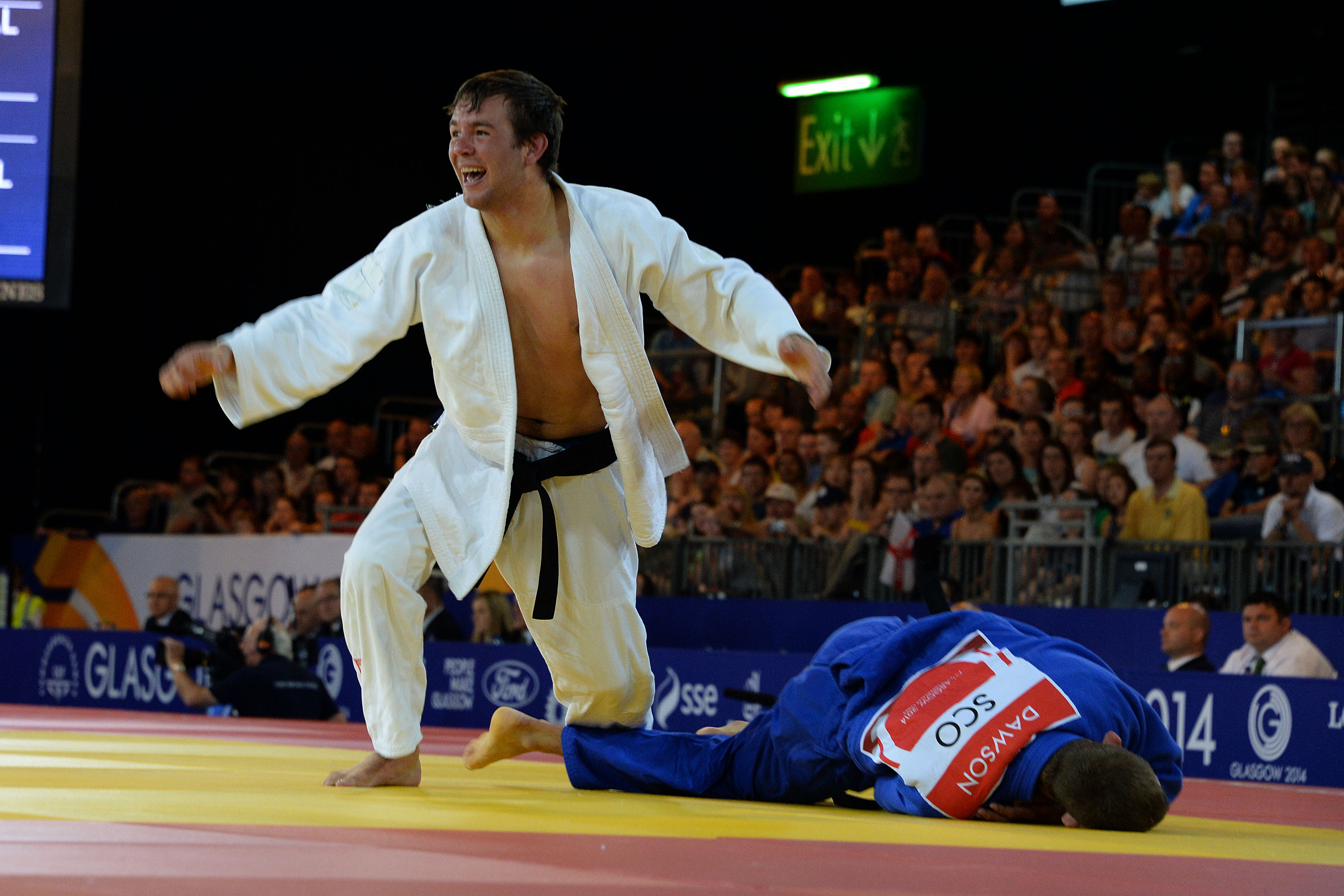 Van Zyl to grapple for judo bronze at Games