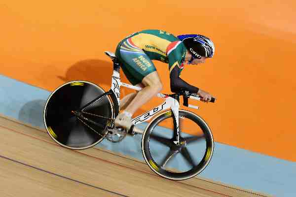 Track aces race into action at Sir Chris Hoy Velodrome