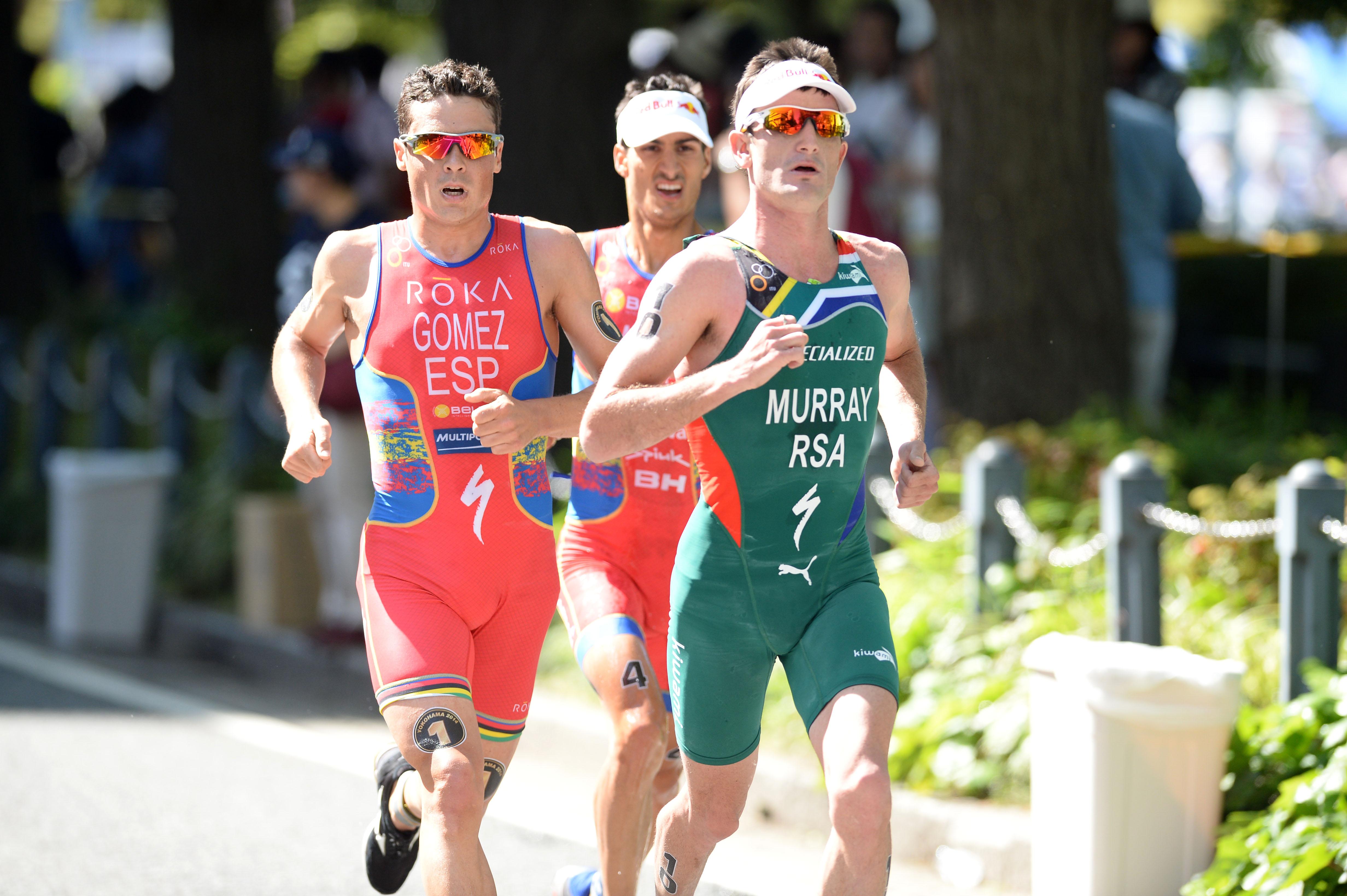Medal hopeful Murray's last Games warm-up race