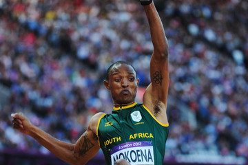 Mokoena has golden touch on wet Glasgow night
