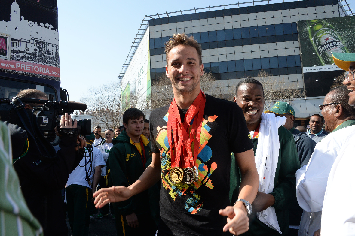 Commonwealth heroes paraded in Johannesburg
