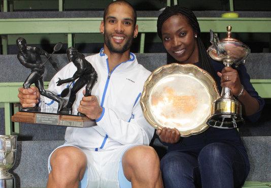 Le Roux, Waters take SA squash titles