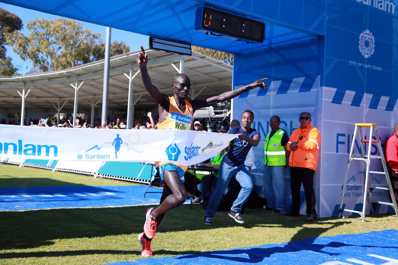 Kenyan Kibor takes honours in CT Marathon