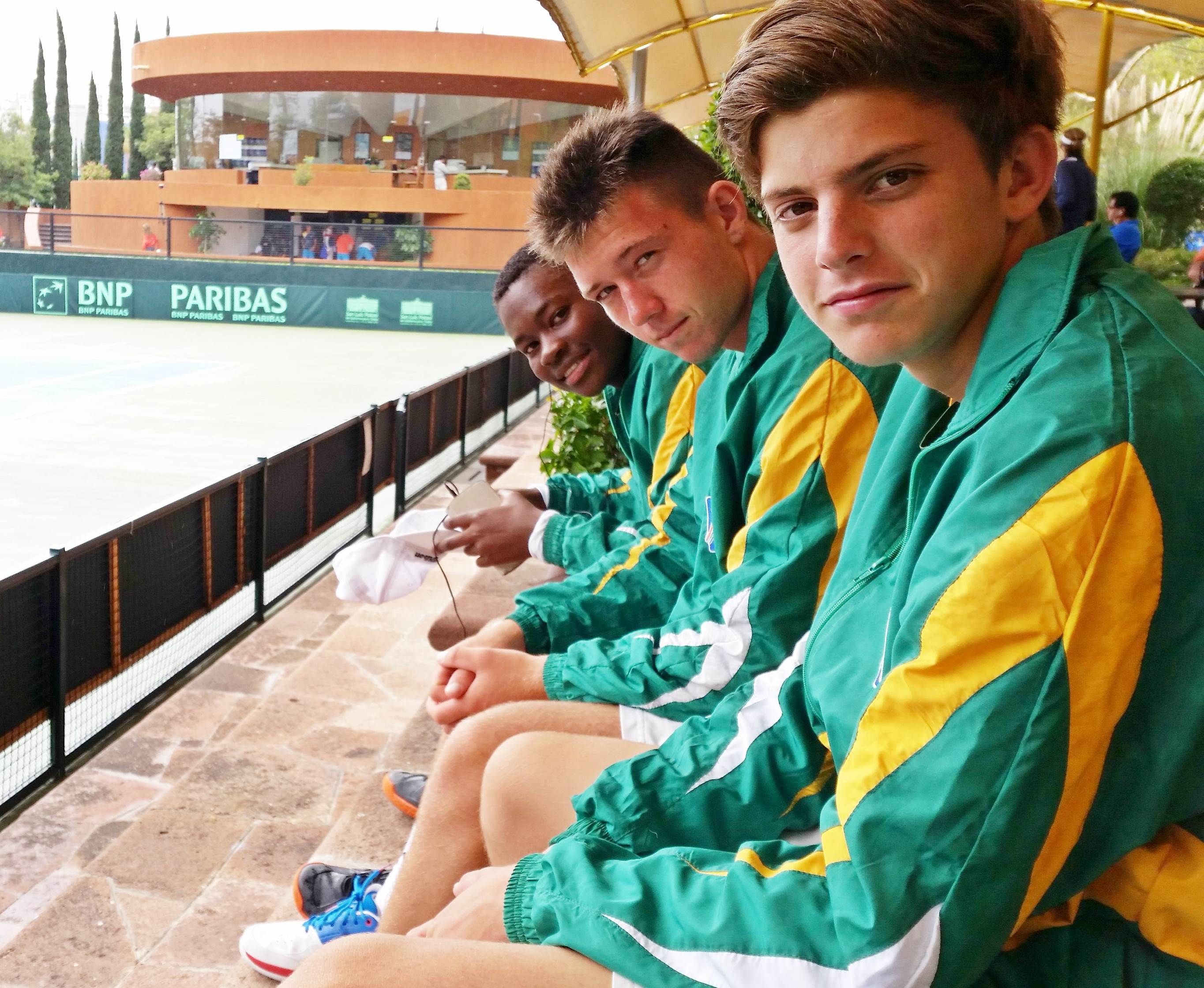 Davis Cup youngsters go down to Argentina, Japan