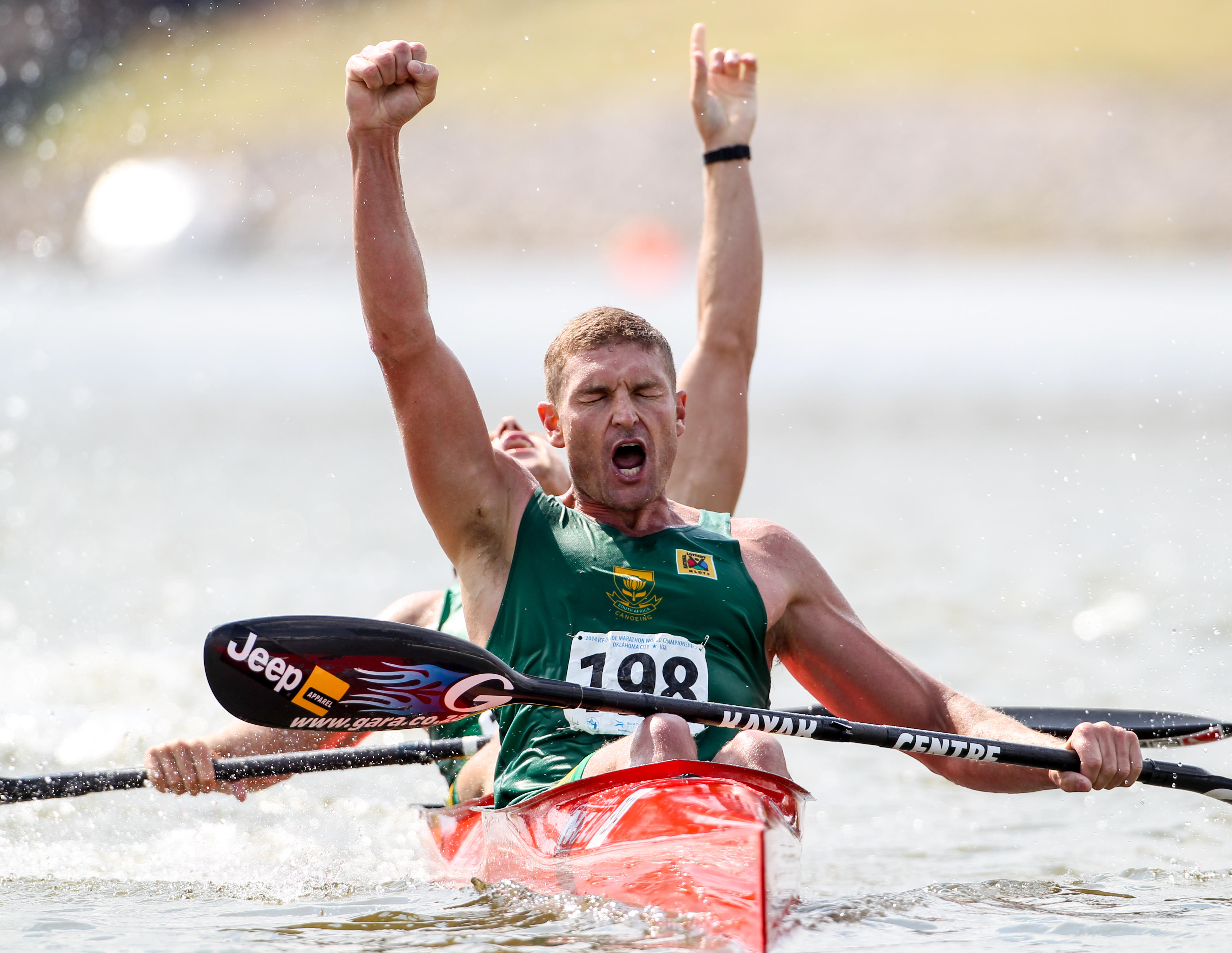 McGregor teams up with Mocke to make canoeing history