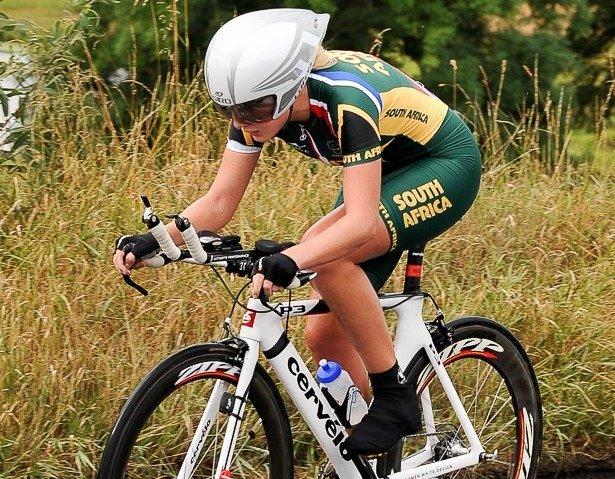 Dalton flies SA flag in women's TT at World's