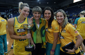 Constellation Cup Game 5Australia Diamonds v New Zealand Silver Ferns