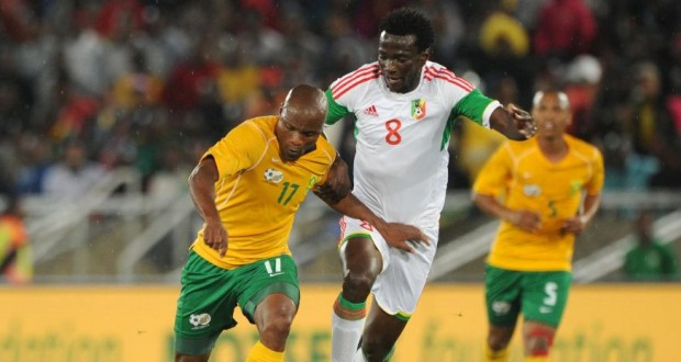 Bafana held by Congo but still top their group