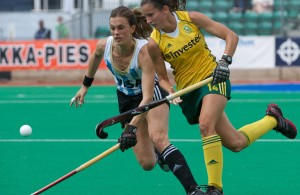 Investec Hockey World League: Argentina-RSA (quarter)