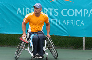 Leon Els, SA's no.2 in the men's division