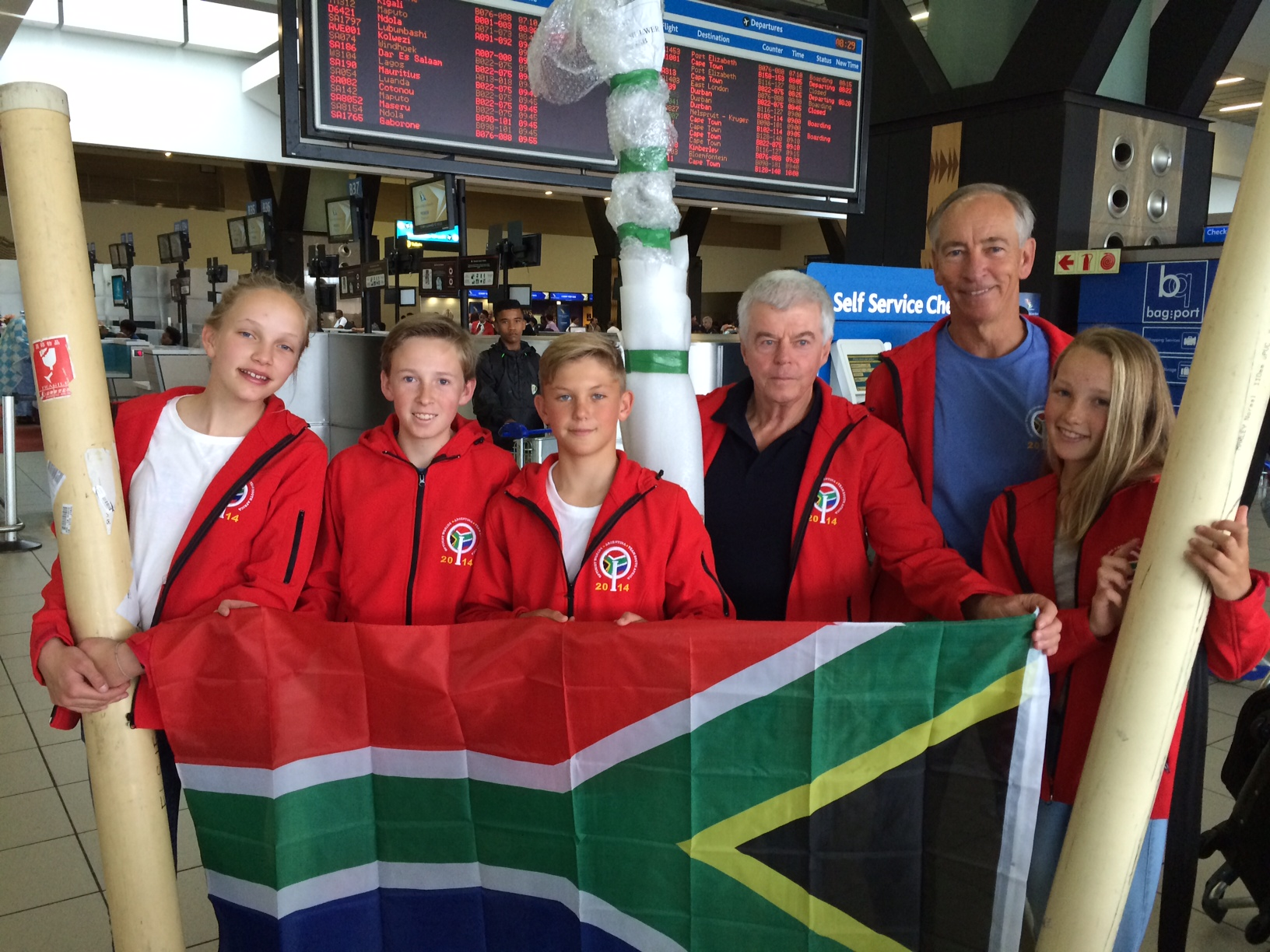 SA's Optimist team upbeat ahead of World Championship
