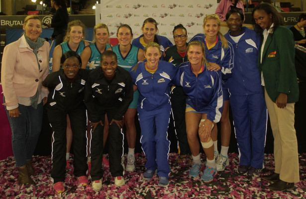 Brutal Fruit Netball Cup 2014