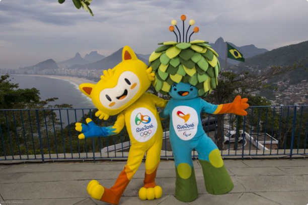 Mascots unveiled for 2016 Olympics and Paralympics