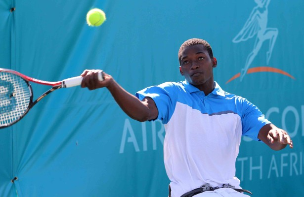Evans Maripa ranked no.1 in SA mens division no.14 internationally Photo by Reg Caldecott