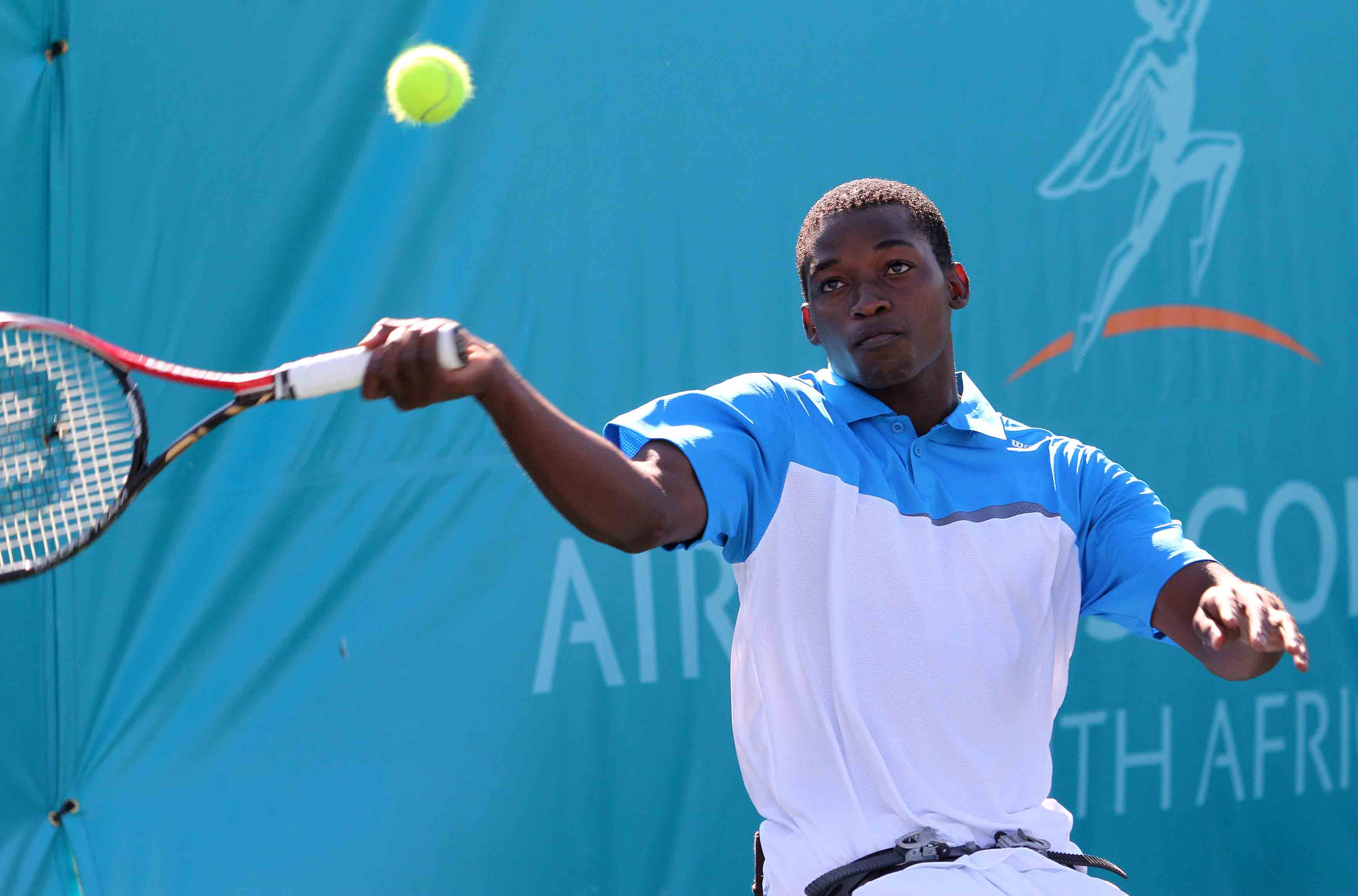 Paralympian Maripa ends fourth in Doubles Masters