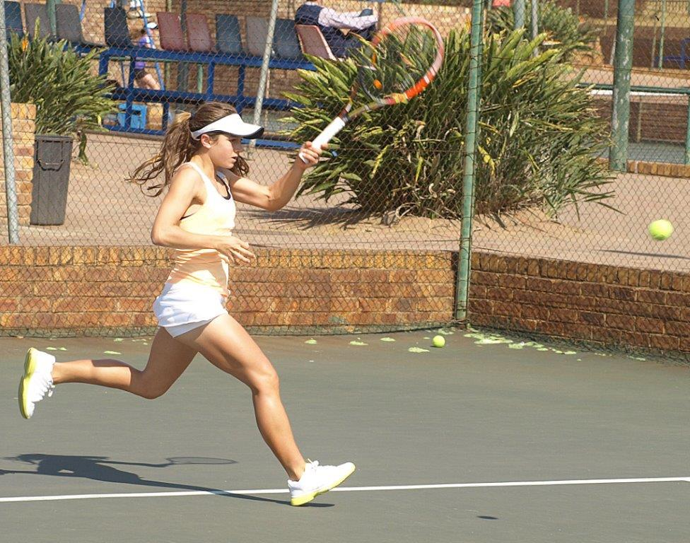 Tennis youngsters courting success at Region 5 Games