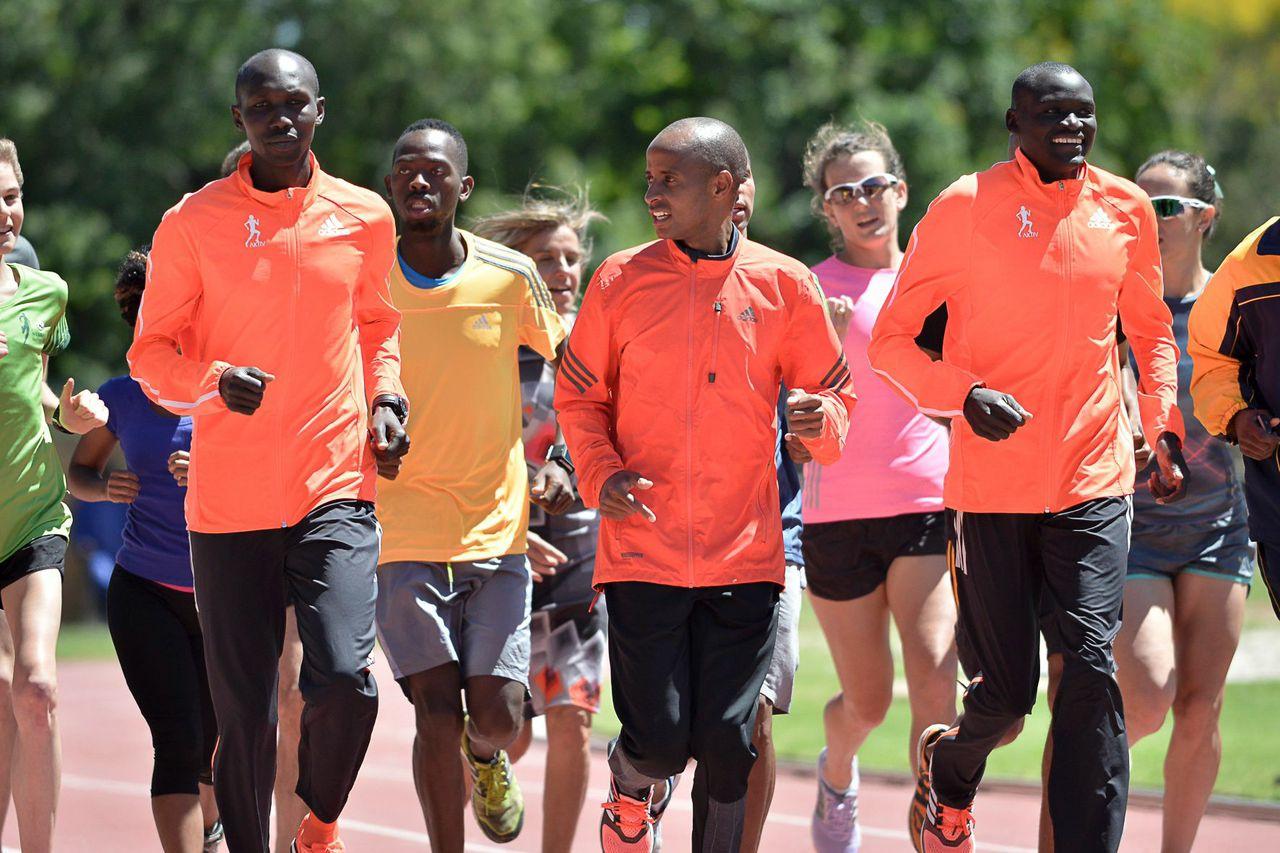 Marathon superstars inspire SA communities