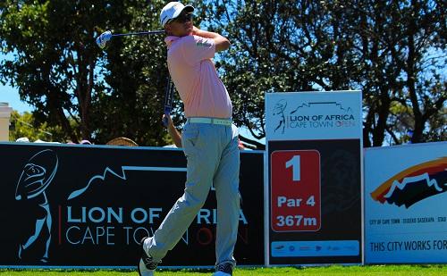 Lion-hearted Ahlers seals Golf Challenge slot