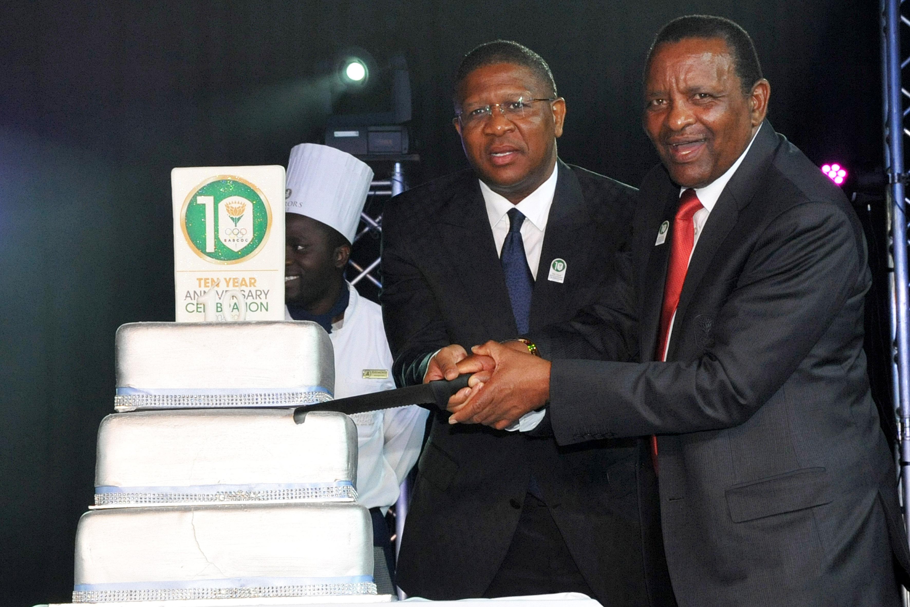 SASCOC celebrate 10-year sporting milestone