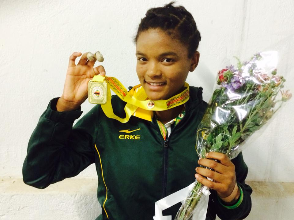 It's a golden day for SA judoka at Region 5 Games