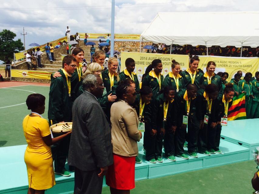 SA netballers downed by Zimbabwe at Region 5 Games