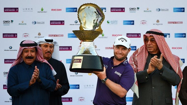 Grace wins Qatar Masters for second win in four starts
