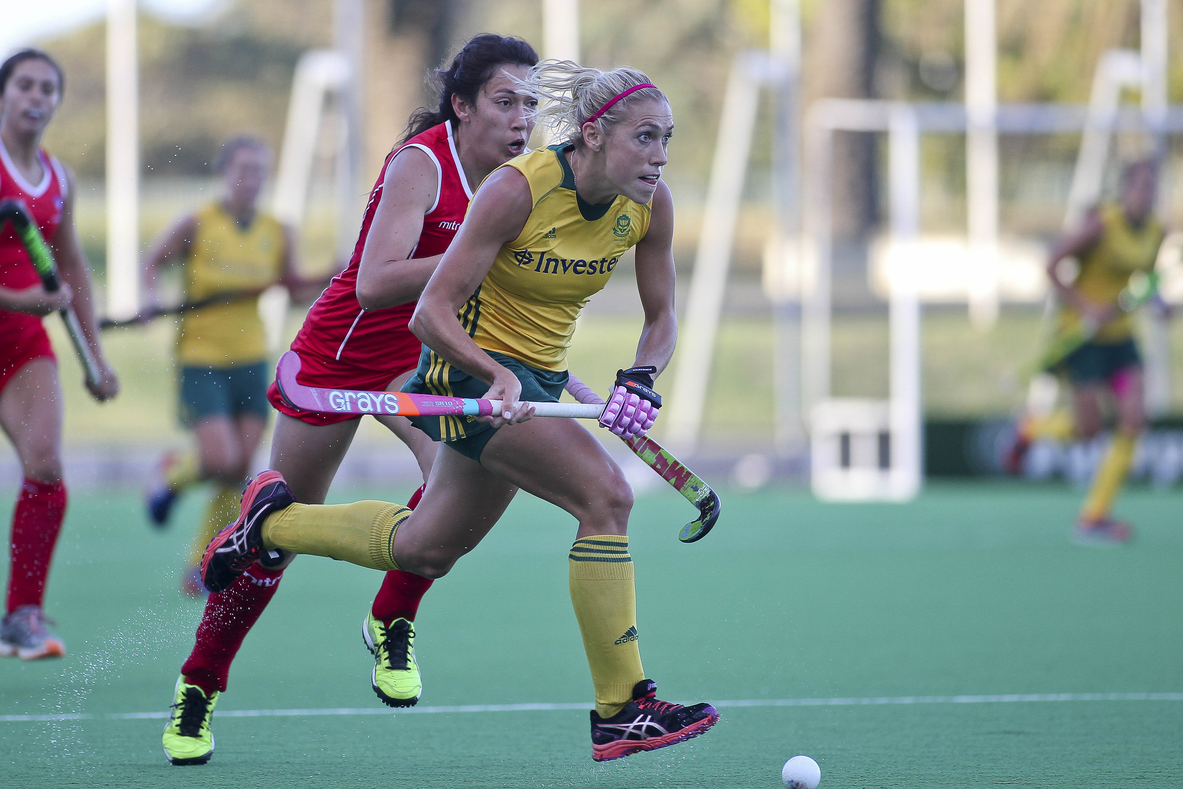 SA women hit four past Chile in Cape Town Test