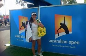 Katie Poluta Australian Open 2015