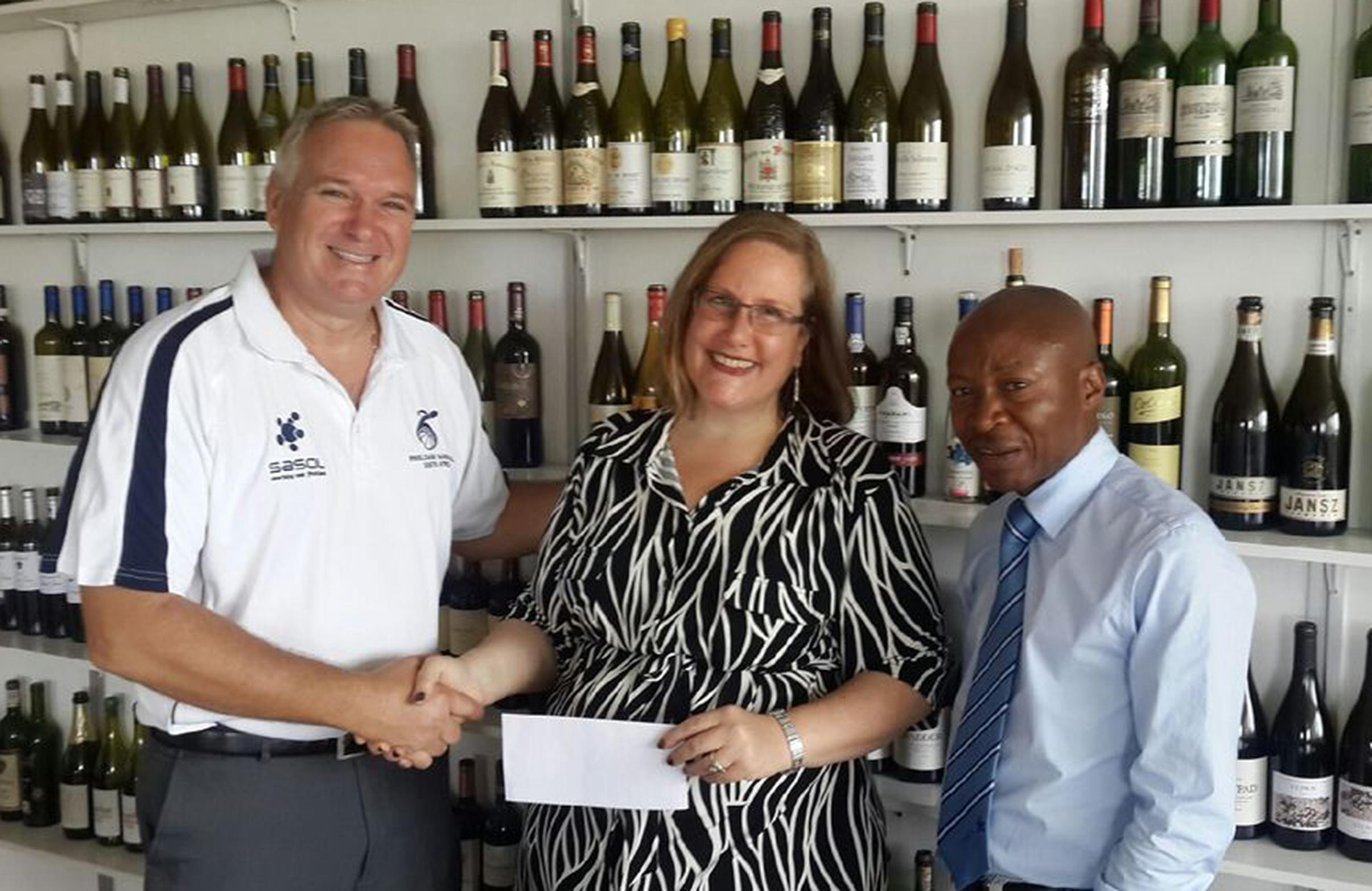 Handy financial boost for SA wheelchair basketball programme