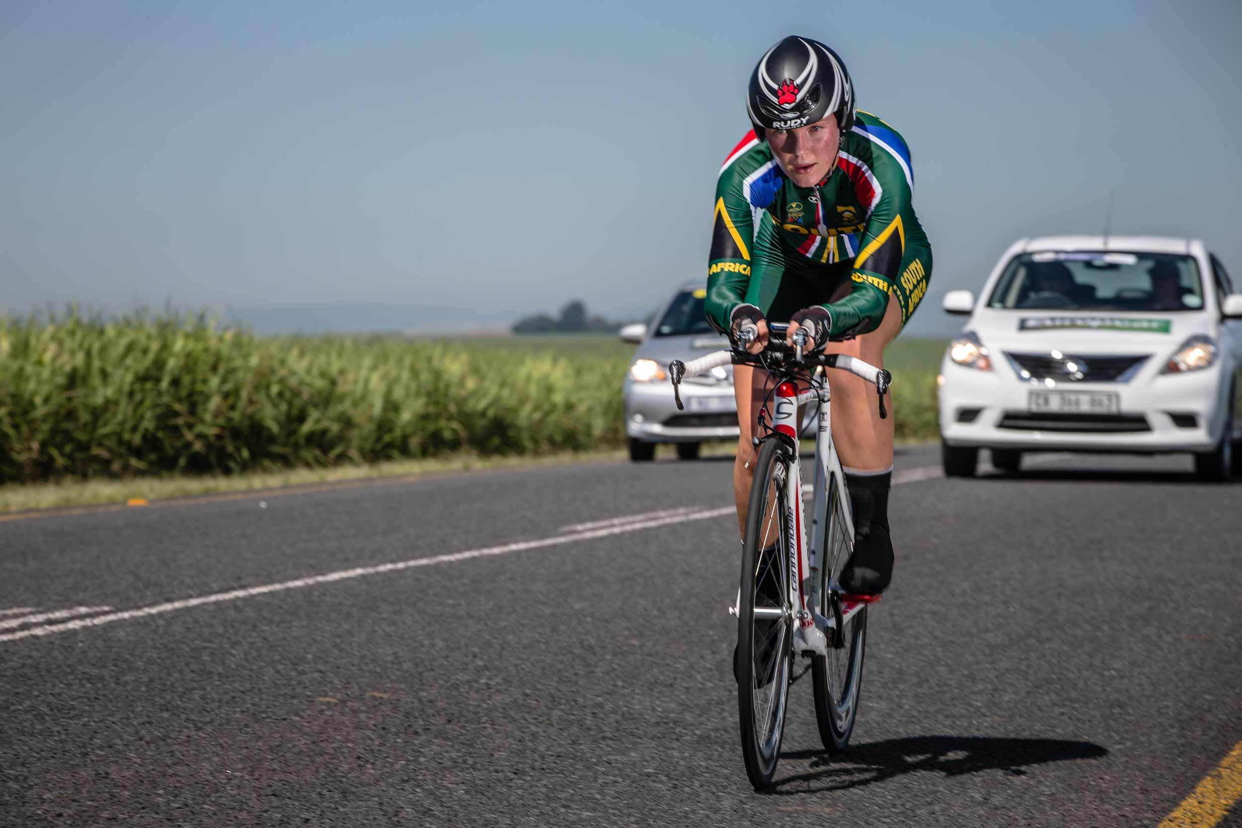 Du Toit, De Vink deliver time trial gold at continental championships