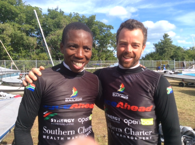 SA's Olympic sailors make merry with eighth spot at World Cup