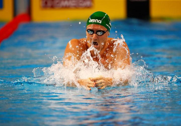 Van der Burgh bags second win at SA Grand Prix