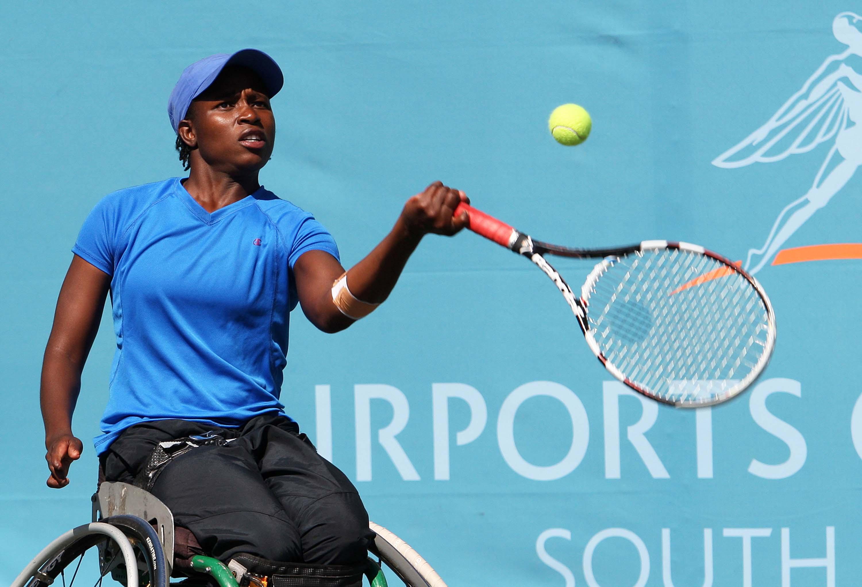 Successful SA wheelchair tennis trio back in SA