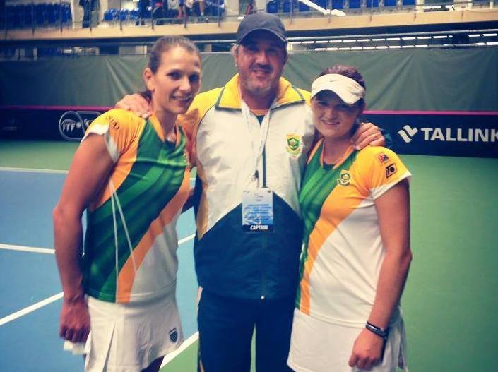 Doubles triumph seals Fed Cup win for South Africa