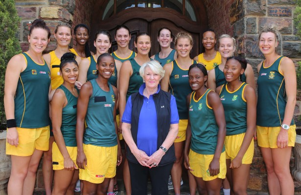 Spar Protea netball team training camp and press conference