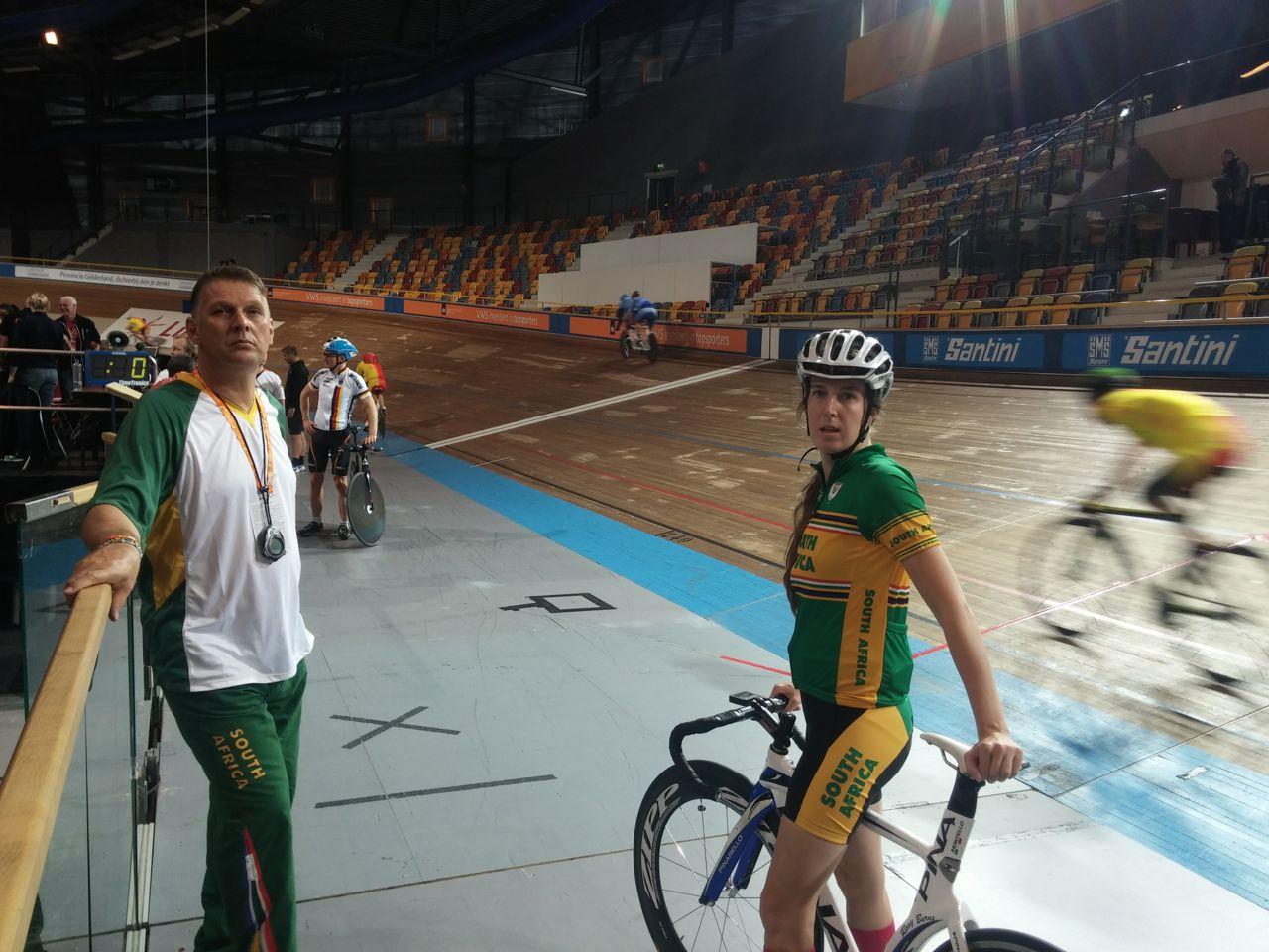 SA team gain great experience at Para-cycling track championships