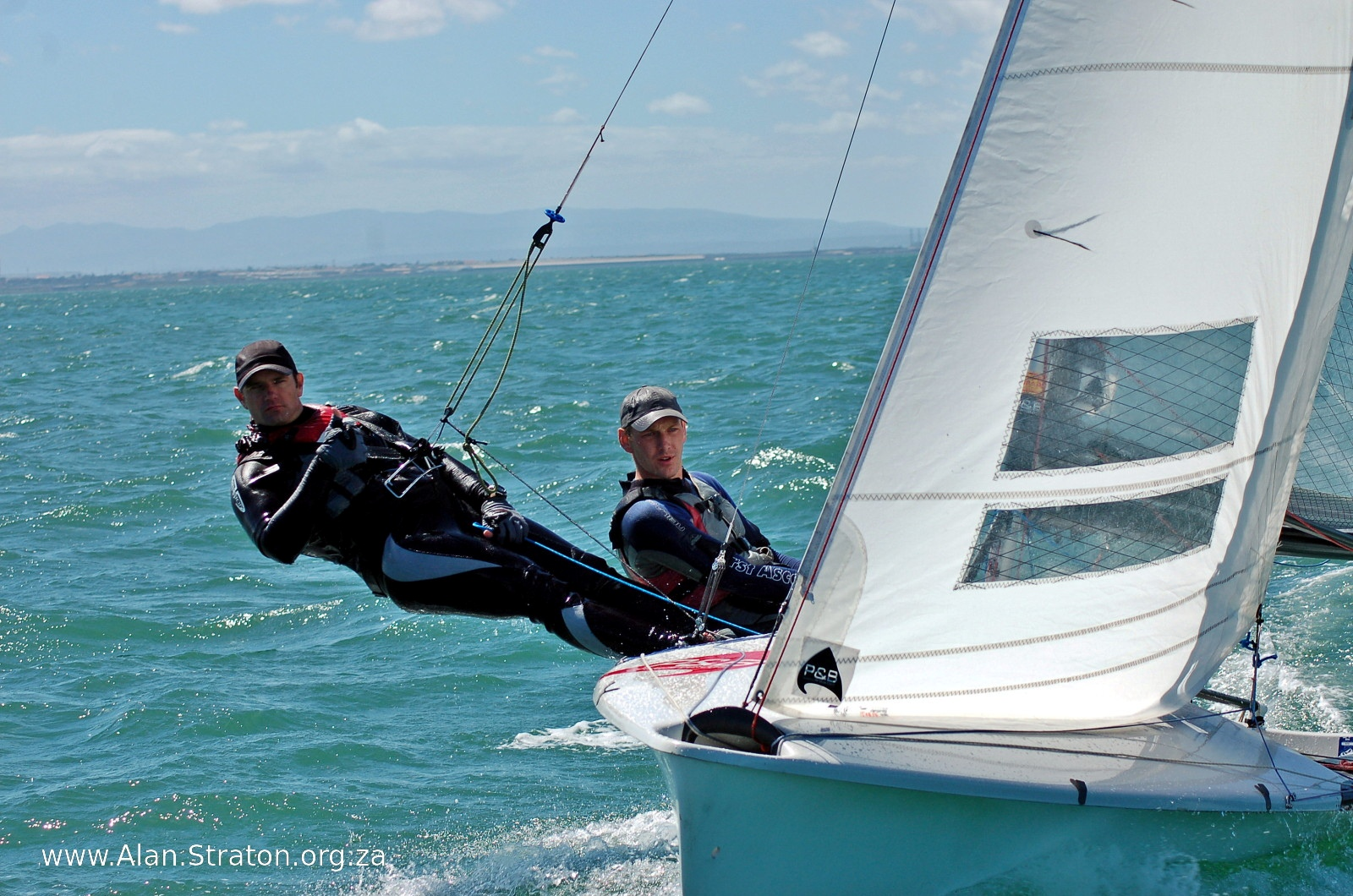 Globe's best sailors in action in Port Elizabeth