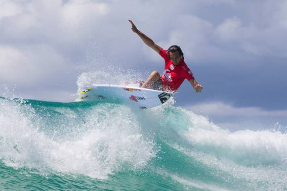 Jordy Smith ends up ninth Down Under