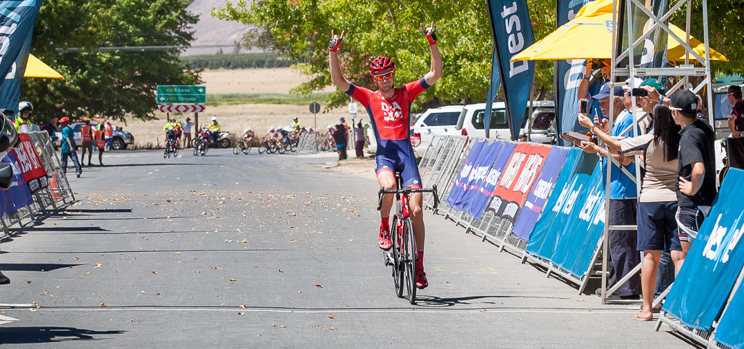 Girdlestone grabs victory in second stage of Tour de Boland